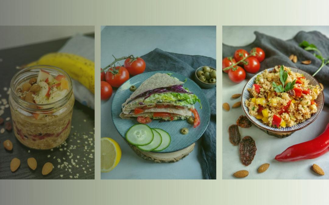 3 gesunde vegane Snacks für deine nächste Wanderung